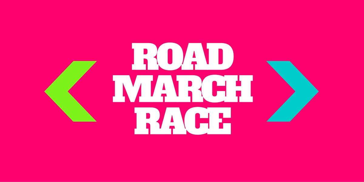 ROAD MARCH RACE