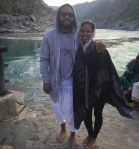Rennee visited India with Montano.